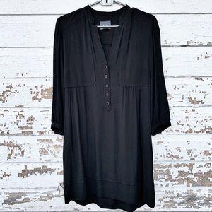Anthropologie Dresses - Anthropologie Maeve Taryn Crepe Shift Dress Size 4